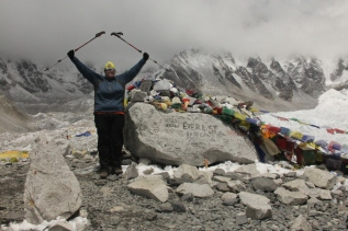 Everest Base Camp Monument