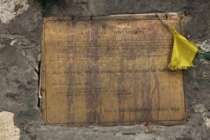Memorial for Babu Sherpa