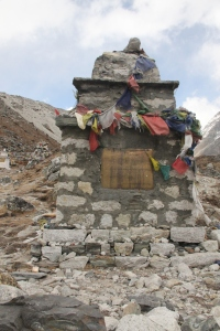 Full shot of Babu Sherpa Memorial